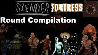 TF2   Slender Fortress 12 Round Compilation