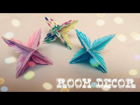 DIY Room Decor - Easy Origami Ornament