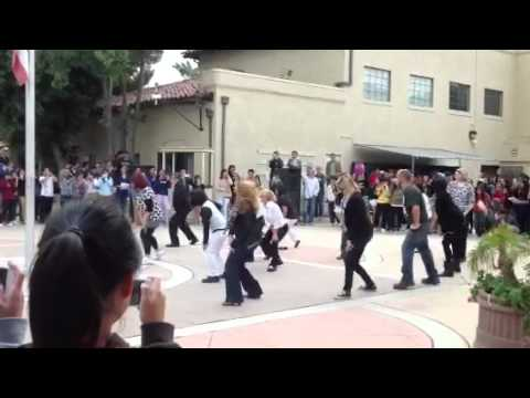 Fairmont Private Schools FLASH MOB - Gangnam Style