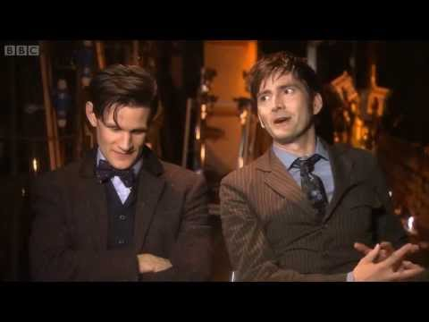 DOCTOR WHO | 50TH ANNIVERSARY DAVID TENNANT AND MATT SMITH INTERVIEW