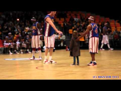 Les harlem Globe trotters en tourne 2011  Chteauroux