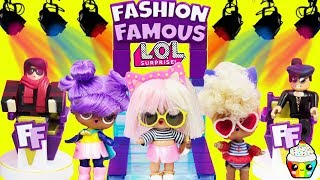 Roblox Fashion Famous LOL Edition LOL Dolls Fashion Competition Cupcake Kids Club