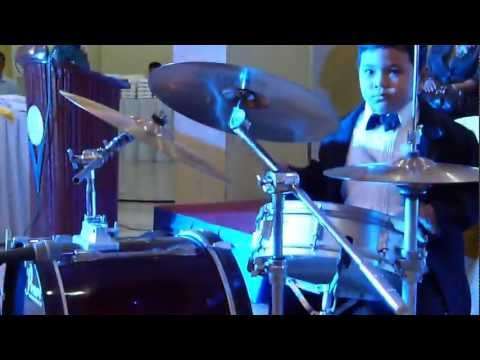Cha-cha Dabarkads Drum Cover, 6th Year Old Drummer, David Hans video