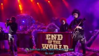 [Karaoke lyrics] SEKAI NO OWARI - Anti-hero (Acoustic Live)