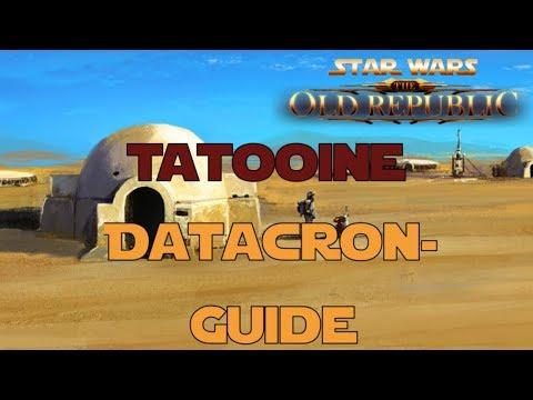 SWTOR Datacron Guide für Tatooine Imperium