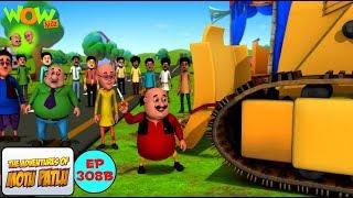 Download Motu ka bulldozer - Motu Patlu in Hindi - 3D Animation Cartoon - As on Nickelodeon 3Gp Mp4