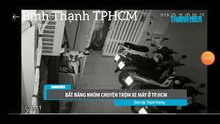 Bắt nhóm chuyên trộm xe máy ở TPHCM #trend99