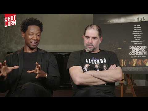 DRAGGED ACROSS CONCRETE | S. Craig Zahler And Tory Kittles Interview | HOT CORN