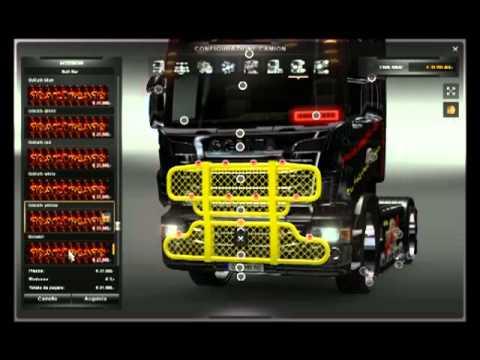 Mod Bullbar Pack Ets2 Youtube