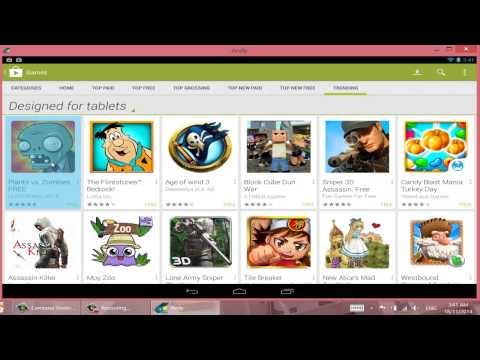 วิธีเล่นเกม Android ใน PC/Notebook โดยใช้ Andy