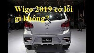 Toyota Wigo 2019 có những lỗi gì?