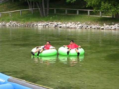 Tubing on platte river michigan youtube for Platte river michigan fishing