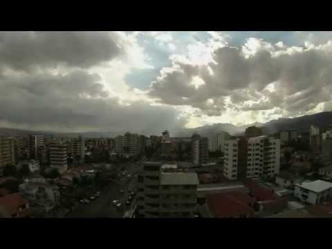 Time Lapse City Cochabamba Bolivia - Gopro Hero3