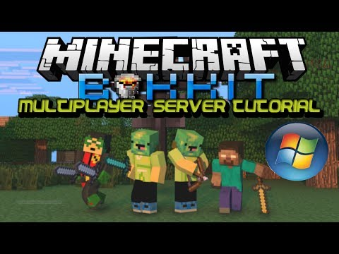 How To Make a Minecraft Bukkit 1.7.9 Server(Windows) (Working)
