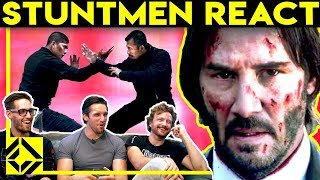 Stuntmen React To Bad & Great Hollywood Stunts 3