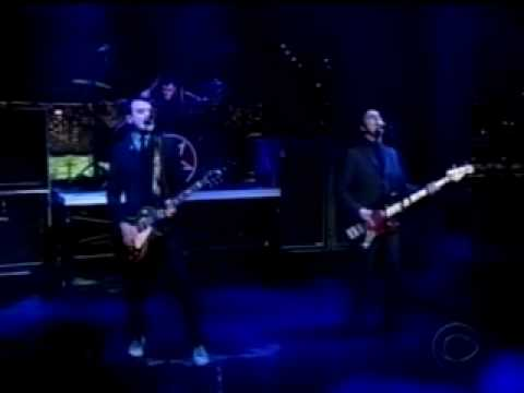 Alkaline Trio - All On Black (Live On Letterman)