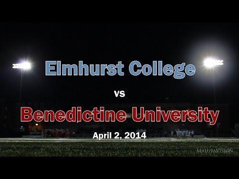 Benedictine University Lacrosse vs Elmhurst College (Full Game Highlights)