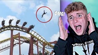 Roller Coaster ACCIDENTS That Will SHOCK YOU..
