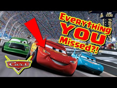 CARS Easter Eggs, you missed some, I promise.