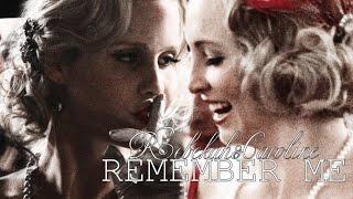 Caroline + Rebekah || remember me {AU}