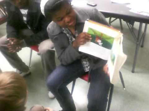 reading to the kids at Bridgeport Hope School Pt 2