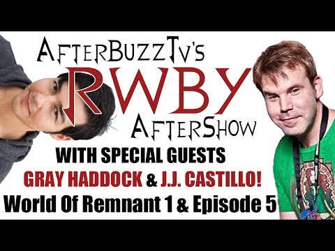 RWBY After Show W/ Gray Haddock And J.J. Castillo Volume 2 World Of Remnant 1 And Episode 5