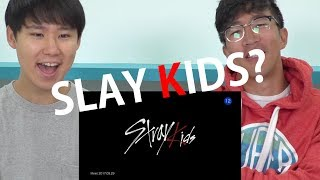 "download lagu Stray Kids ""hellevator"" M/v Korean Reaction gratis"