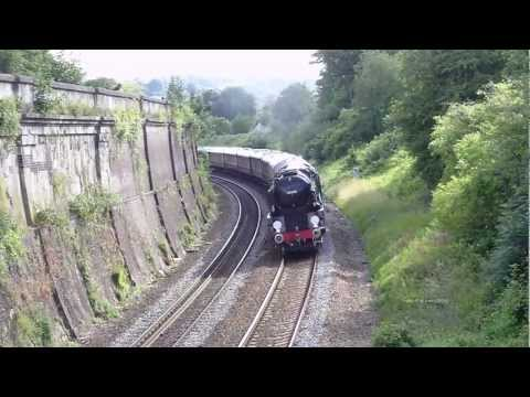 (HD)Steam Trains in the West Country