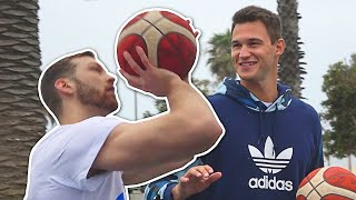 Can Jordan Kilganon Beat NBA Player Danilo Gallinari In Shooting Contest?