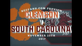 Clemson vs South Carolina - Preview & Predictions 2017 - College Football