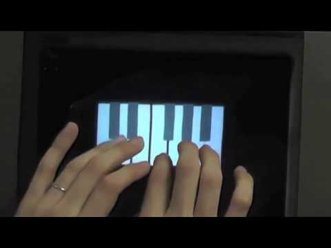 Floating touchscreen lets you feel virtual objects