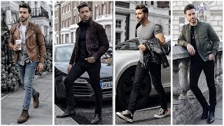MEN'S OUTFIT INSPIRATION | Men's Fashion Lookbook Fall 2018 | 4 Easy Outfits for Men