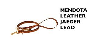 Mendota Leather Jaeger Lead