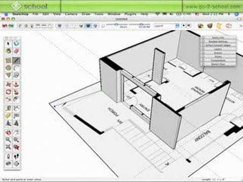 Model House Sketchup Show