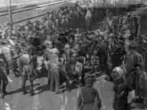 Pictorial record Hungarian Jews arrive at Auschwitz May 44
