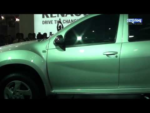 Renault Duster India video review from Auto Expo 2012  by CarToq.com
