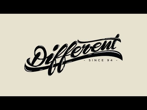 Speed Art | Different Since 94 (T-Shirt Design)