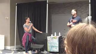How Laura Bailey and Travis Willingham Met