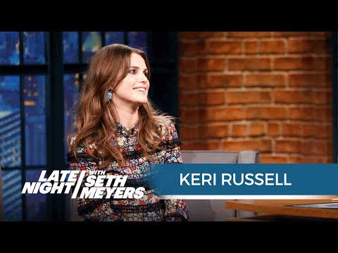 Keri Russell Gives Soon-to-Be-Dad Seth Some Supportive Husband Advice