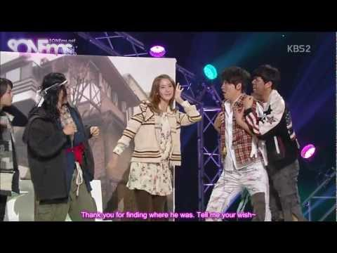 [ENG SUB] 130113 Yoona @ KBS Gag Concert HD English Subbed
