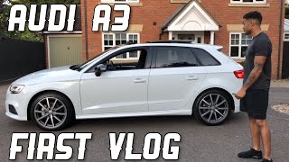 AUDI A3 | Review - First vlog!/Giveaway!!!