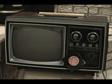 1968 Mint In The Box General Electric Portacolor Tube Tv