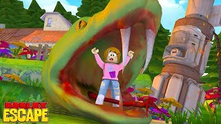 Roblox Escape The Giant Snake Obby With Molly!