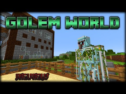 MINECRAFT MODS   Golem World   Review en Español