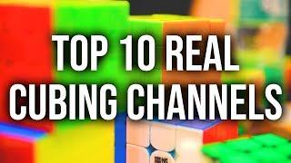 Top Ten Real Cubing Channels 2019