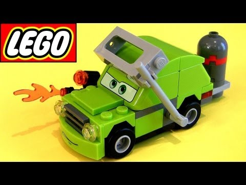 Super Cool Lego Acer with Torch 9484 Cars 2 Disney Pixar toy review how-to build buildable toys