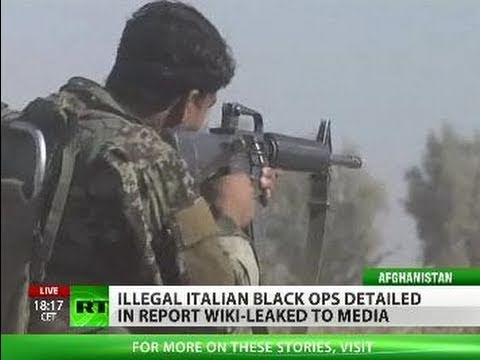 Italian Job: Black ops Wiki-Leaked as Afghan war 'fought in denial'