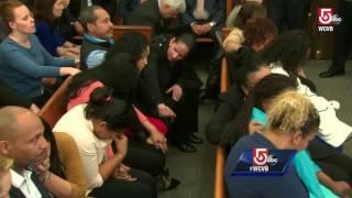 Watch: How Aaron Hernandez reacted to not guilty verdict