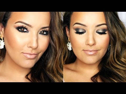 Charcoal Grey Eyes | LORAC Pro Palette 2 Tutorial ♡
