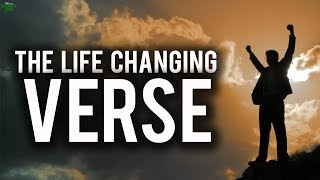 THE VERSE THAT CAN CHANGE YOUR LIFE